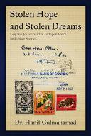 Stolen Hope and Stolen Dreams Book PDF