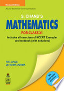 S.Chand'S Mathematics For Class XI
