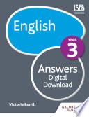 English Year 3 Answers