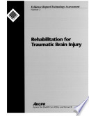 Rehabilitation For Traumatic Brain Injury Book PDF