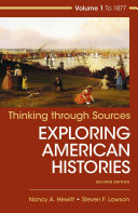 Document Projects for Exploring American Histories Book PDF