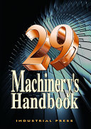 Machinery s Handbook Book