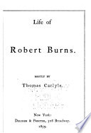 Life of Robert Burns