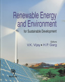 Renewable Energy and Environment for Sustainable Development