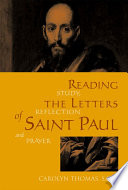 Reading The Letters Of Saint Paul
