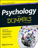 """Psychology For Dummies"" by Adam Cash"