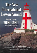 The New International Lesson Annual 2000-2001
