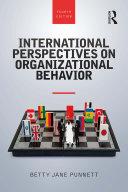 International Perspectives on Organizational Behavior