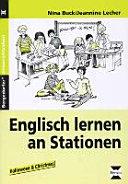 Englisch lernen an Stationen