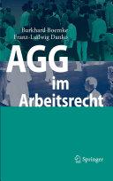 AGG im Arbeitsrecht