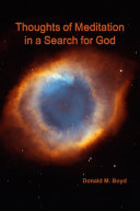 Thoughts of Meditation in a Search for God