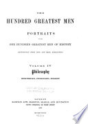 The Hundred Greatest Men: Philosophy