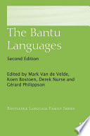 The Bantu Languages