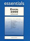 Excel 2000 Essentials Advanced