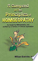 A Compend of the Principles of Homoeopathy