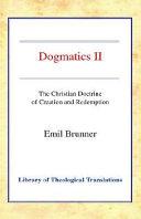 Dogmatics Ii