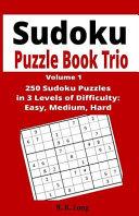 Sudoku Puzzle Book Trio