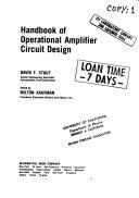 Handbook of Operational Amplifier Circuit Design