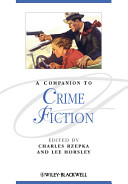 Cover of A Companion to Crime Fiction