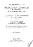 Supplemente zu H. Nothnagel, Spezielle Pathologie und Therapie. v. 6 pt. 2, 1913