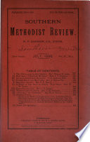 The Methodist Review ...
