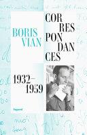 Pdf Correspondances 1932-1959 Telecharger