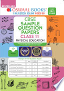 Oswaal Cbse Sample Question Paper Class 11 Physical Education Book For 2021 Exam