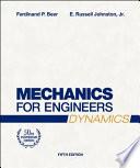 Mechanics for Engineers, Dynamics