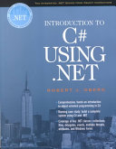 Introduction to C  Using  NET