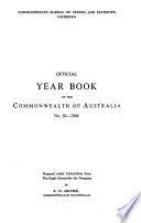 Official Year Book Of The Commonwealth Of Australia No 50 1964