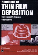 Handbook Of Thin Film Deposition Processes And Techniques Book PDF