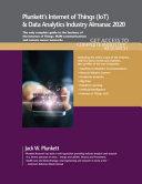 E Book Plunkett s Internet of Things  IoT  and Data Analytics Industry Almanac 2020