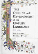 Cover of The Origins and Development of the English Language