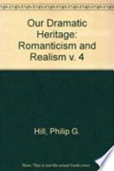Our Dramatic Heritage Classical Drama And The Early Renaissance Book PDF
