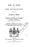 How to Work with the Microscope