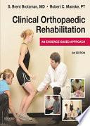 Clinical Orthopaedic Rehabilitation Book