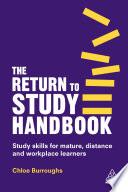 The Return To Study Handbook Book