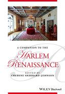 A Companion to the Harlem Renaissance Pdf/ePub eBook