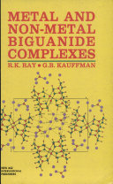 Metal And Non Metal Biguanide Complexes
