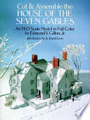 Cut and Assemble the House of 7 Gables Book