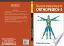 Recent Advances in Orthopedics   2 Book