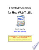 How To Bookmark For Free Web Traffic