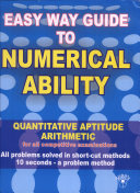 Easyway Guide to Numerical Ability and Arithmetic ebook