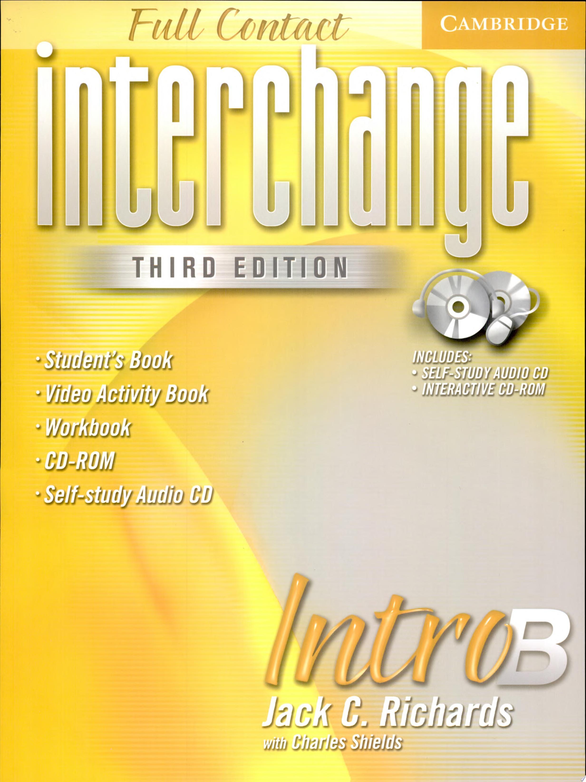 Interchange Third Edition Full Contact Intro B