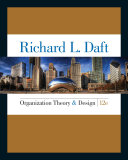 Pdf Organization Theory and Design Telecharger