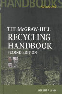 McGraw Hill Recycling Handbook  2nd Edition