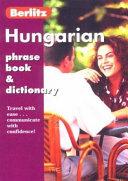 Berlitz Hungarian Phrase Book   Dictionary