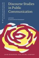 Discourse Studies in Public Communication