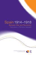Spain 1914-1918 Pdf/ePub eBook