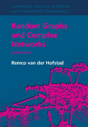 Random Graphs and Complex Networks: